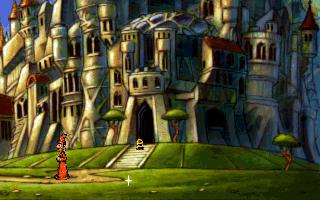 Плоский мир (Discworld) - у замка