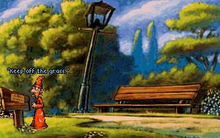 Плоский мир (Discworld) - в парке