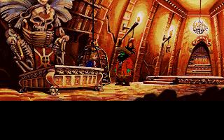 Monkey Island 2 - LeChucks Revenge - в покоях