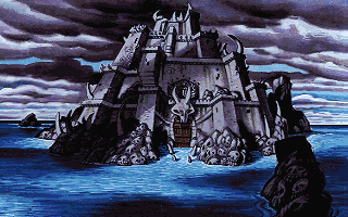 Monkey Island 2 - LeChucks Revenge - тёмный замок