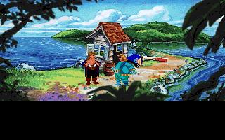 Monkey Island 2 - LeChucks Revenge - у моря