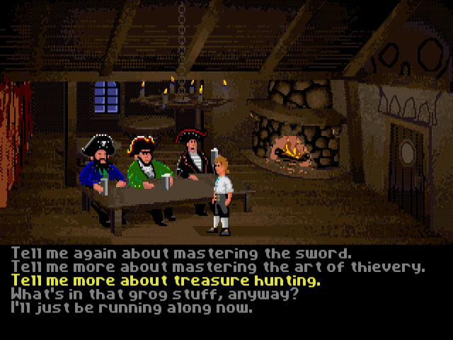 The Secret of Monkey Island - пираты