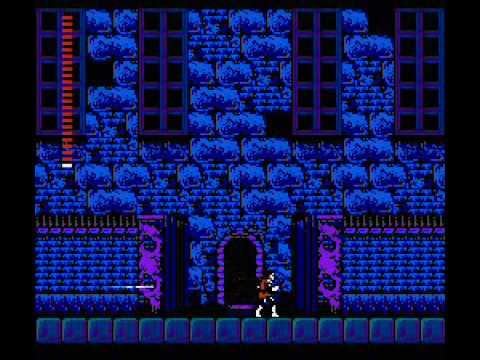 Castlevania II: Simon's Quest - у входа в Замок графа Дракулы