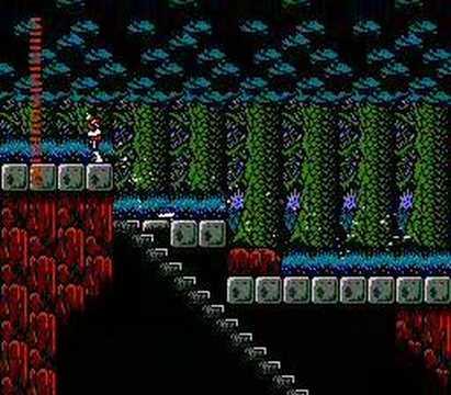 Castlevania II: Simon's Quest - в глухом лесу