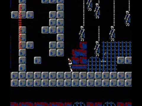 Castlevania II: Simon's Quest - Скелеты на цепях
