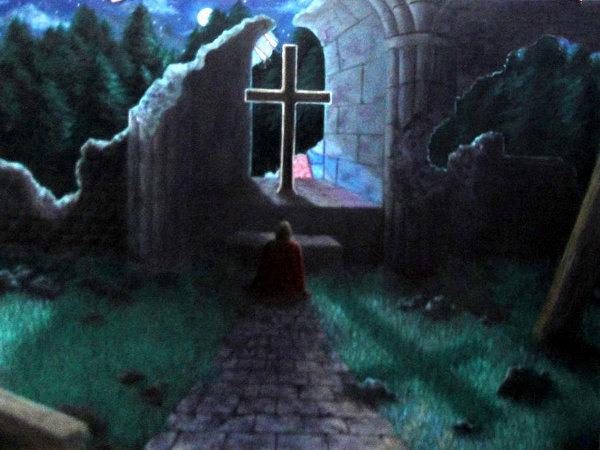 Castlevania II: Simon's Quest - у могилы графа Дракулы