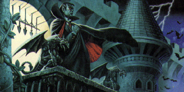 Castlevania II: Simon's Quest - Граф Дракула