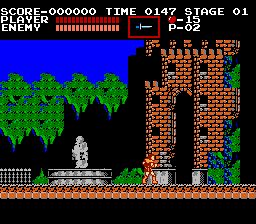 Castlevania 1986 - у входа в замок