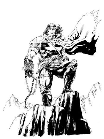 Castlevania: Dracula X (Rondo of Blood) - Ричтер со своим кнутом из стальной цепи