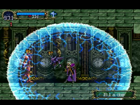Castlevania: Symphony of the Night / Симфония ночи - screenshot - применение магии