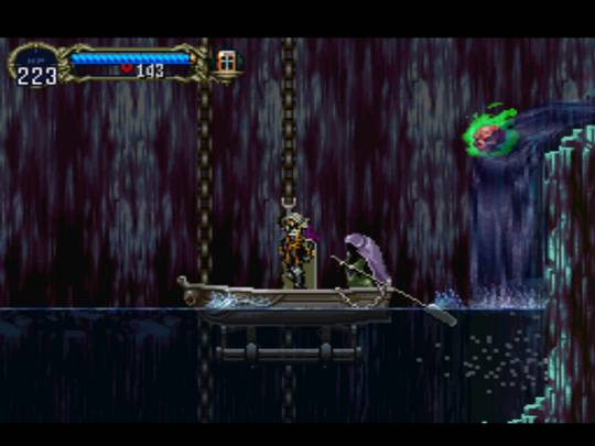 Castlevania: Symphony of the Night / Симфония ночи - screenshot - переправа