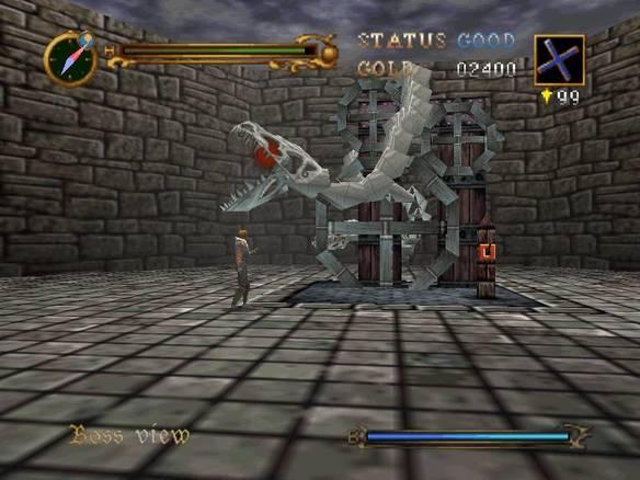 Castlevania 64 - битва с боссом