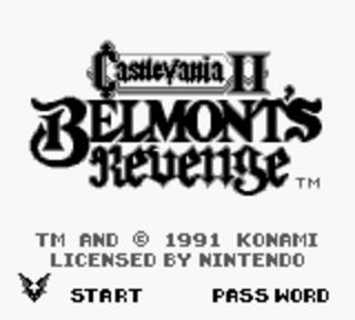 Castlevania 2: Belmont's Revenge - старт игры