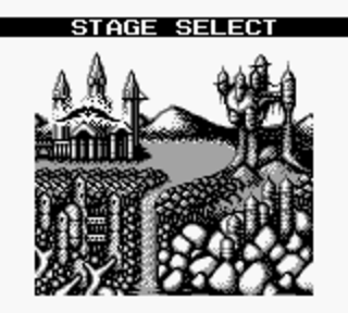 Castlevania 2: Belmont's Revenge - выбор замка для зачистки от нечести