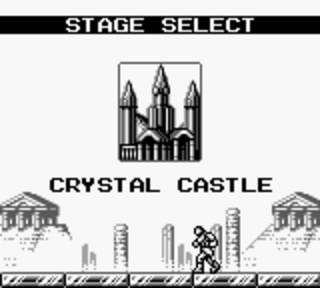 Castlevania 2: Belmont's Revenge - хрустальный замок