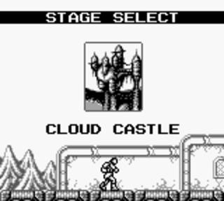 Castlevania 2: Belmont's Revenge - замок в небе (облаках)
