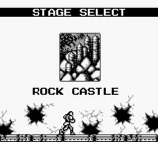 Castlevania 2: Belmont's Revenge - замок на скале