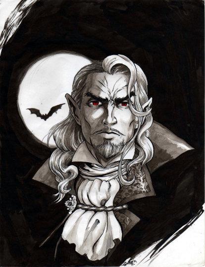 Castlevania: Symphony of the Night / Симфония ночи - Граф Дракула
