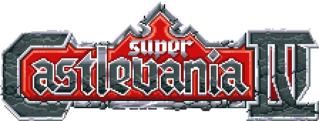 Super Castlevania IV - лого