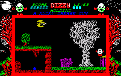 Dizzy: The Ultimate Cartoon Adventure - DizzyAGE Remake - при луне
