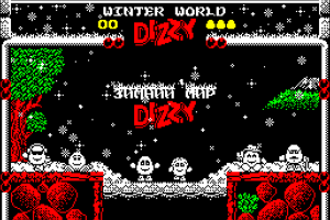 Winter World Dizzy