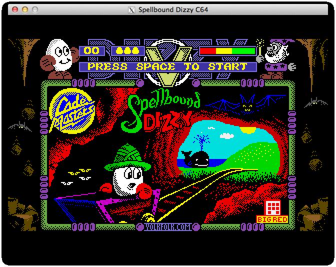 Spellbound Dizzy Lite начальная заставка
