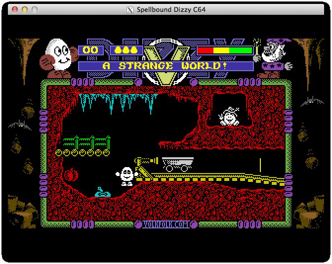 Spellbound Dizzy Lite Spellbound Dizzy Lite - первый экран, первый квест